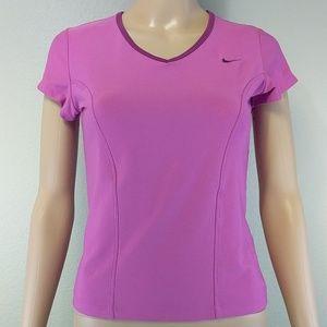 [Nike] Drifit Orchid Purple Pink Workout Top